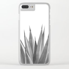 Gray Agave Dream #1 #tropical #decor #art #society6 Clear iPhone Case