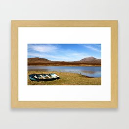 On Loch Awe 2 Framed Art Print