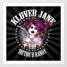 KLOVER JANE Art Print