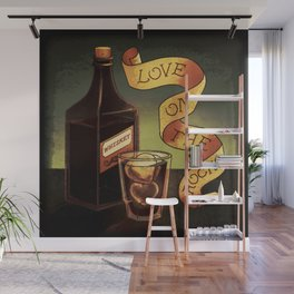 Love On The Rocks Wall Mural