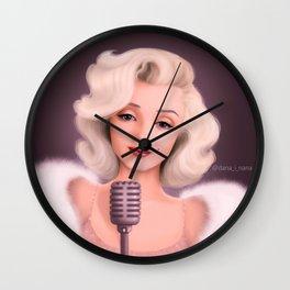 Marilyn Monroe1 Wall Clock