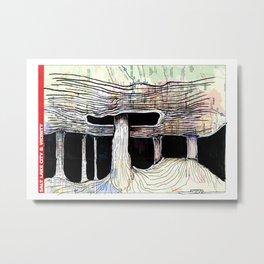 Salt Lake City, Utah Metal Print