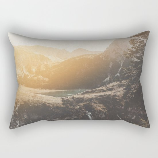 Is this real landscape photography Rectangular Pillow
