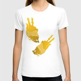 sod off fish twice T-shirt