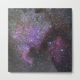 North America Nebula and Pelican Nebula Metal Print