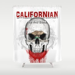 To The Core Collection: California Shower Curtain