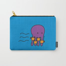 Swimming Octopus Carry-All Pouch
