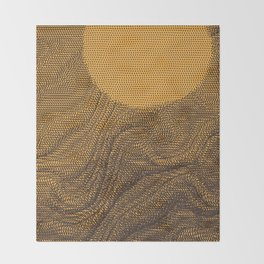 Sonoran Scorch Throw Blanket
