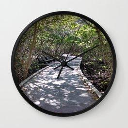 Four Mile Cove Wall Clock