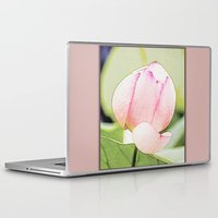 lotus flower Laptop & iPad Skins featuring Lotus by Karl-Heinz Lüpke