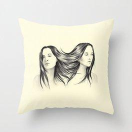 Siamois Throw Pillow