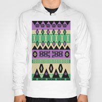 aztec Hoodies featuring AZTEC by oldi
