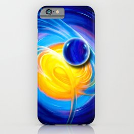 Abstract perfection - Circle iPhone Case