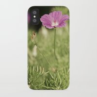 verse iPhone & iPod Cases featuring My Gentle Verse by Nicole Rae