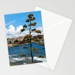 Seascape of Alghero Sardinia Italy Stationery Cards