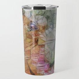 abstract hippo Travel Mug