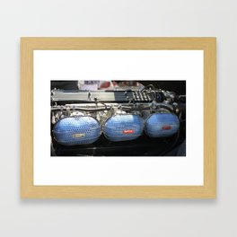 Triple Weber Side Drafts Framed Art Print