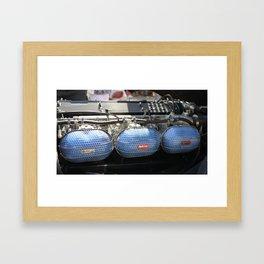Triple Weber Side Drafts Framed Art Print