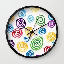 Meditation 57 Wall Clock