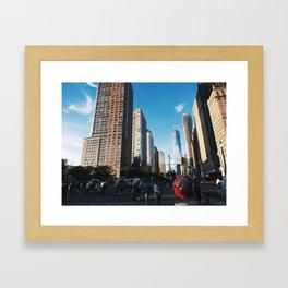 All At Once Framed Art Print