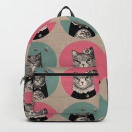 Cats Print Backpack
