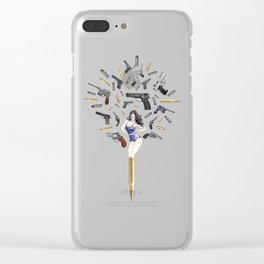 Bullet Girl Clear iPhone Case