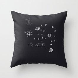 Universe. Throw Pillow