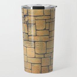 Masonry Stone Cladding Wall Travel Mug