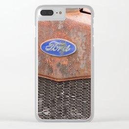 Rust Bucket Clear iPhone Case