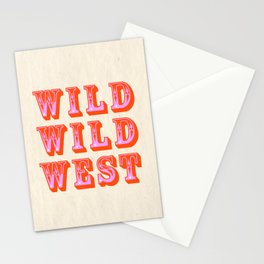 WILD WILD WEST Stationery Cards