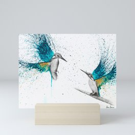 Kingfisher Memories Mini Art Print