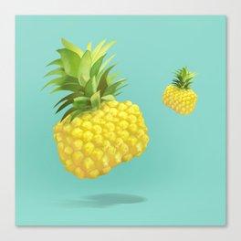 XiaoTieJun Pineapple Canvas Print