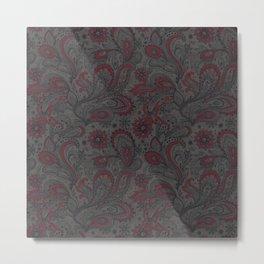 Jacobean Metal Print