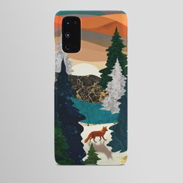 Amber Fox Android Case
