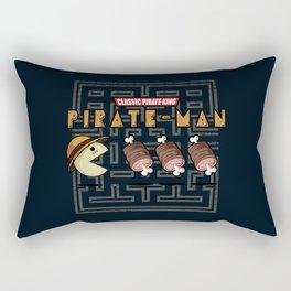 Old Pirate-Man Rectangular Pillow