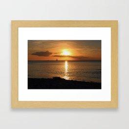 Seduced by the Sun Framed Art Print