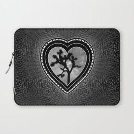 Joshua Tree Heart of the Hi-Desert by CREYES Laptop Sleeve
