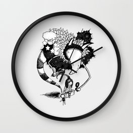 Imaginary Fiend Wall Clock
