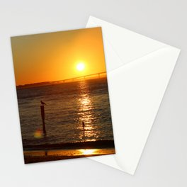 Jersey Shore Sunset-Portrait Stationery Cards
