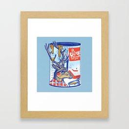 Maple sirup can Framed Art Print