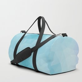 Kaleidoscopic design in blue colors Duffle Bag