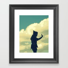 Peter Pan Framed Art Print