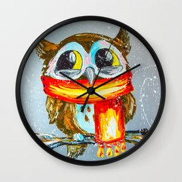 OOH... SO COLD ! Wall Clock