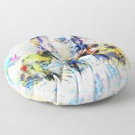 Franz Schubert Composer Musician Portrait Floor Pillow