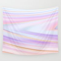 metallic Wall Tapestries featuring metallic by Grace