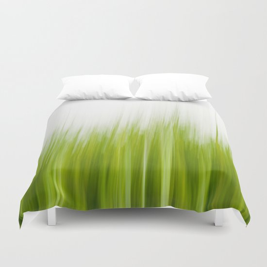Grass wipe --- Gras-Wusch Duvet Cover