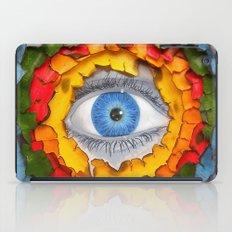 Rainbow Burn iPad Case