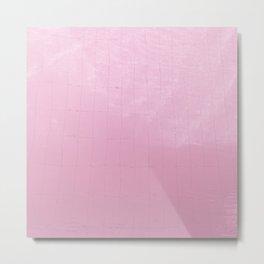 Pink Water II Metal Print