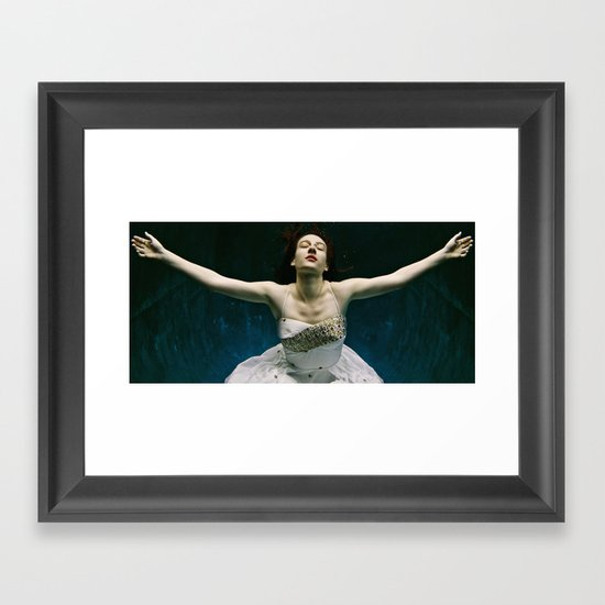 abyss of the disheartened : I Framed Art Print