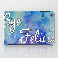 friday iPad Cases featuring Friday by Jamie Marie Lyon